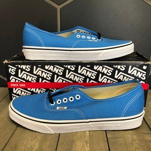 New W/ Damaged Box! Vans Authentic French Blue